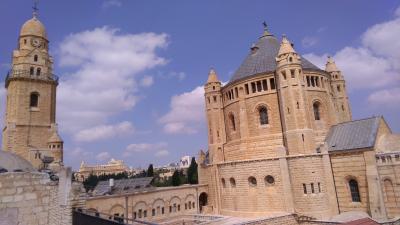 エルサレム(ダビデ王の墓、最後の晩餐の部屋、マリヤ永眠教会)