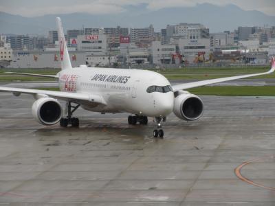 AIRBUS A350 搭乗 福岡・博多 旅行記④