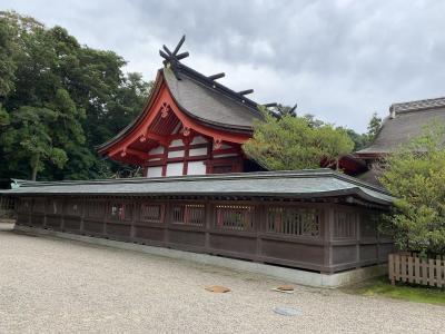 福岡旅行記② 宗像・宮地嶽神社