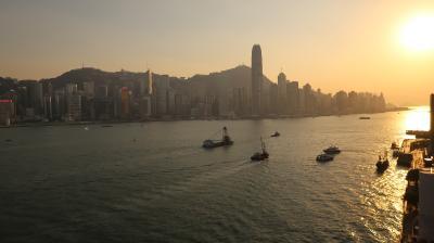 2019年9月 ディズニーランドとホテルステイを満喫する女子旅香港④♪~「インターコンチネンタル香港」到着~クラブラウンジ&夜景を満喫~