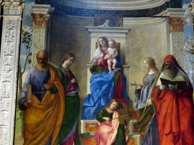 2019年 イタリア・フレスコ画の旅 ヴェネチアの美術館と教会、そしてスクオーラ