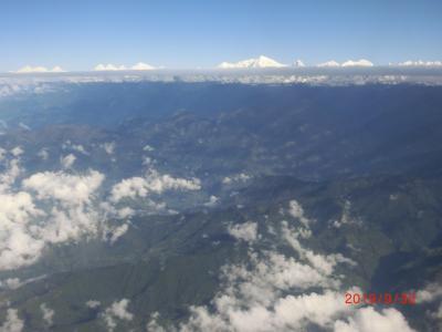 成田前泊、仁川経由でエベレスト観光5日