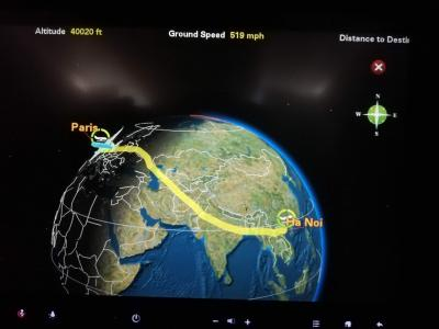 なぜかハノイ経由で、リスボン・パリの旅 (1)ハノイ、パリ乗り換えで、リスボンまで
