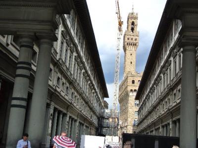 ミラノ周辺、二人旅-5、ウフィツィ美術館