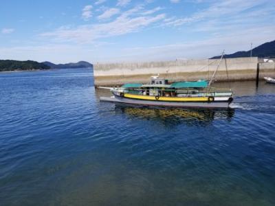 瀬戸内海の島めぐり 今治 しまなみ海道 鵜島