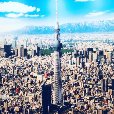 My first Tokyo Sky Tree~2019年10月
