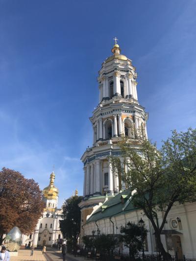 2019秋 ウクライナ キエフ2日目 観光バスとペチェルースカ大修道院とバレエ午後と夜編
