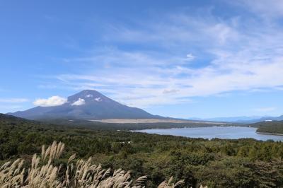 富士山を見に山中湖へ