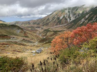 2019年10月紅葉シーズンの立山