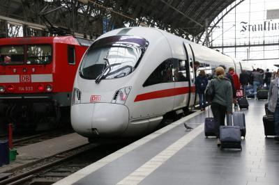 ドイツ旅行 フランクフルトからミュンヘンへ
