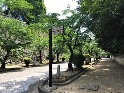 神戸から岡山日帰りドライブ2 津山城跡