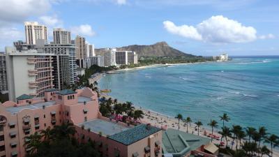 15回目のハワイは初シェラトン6泊のプチ長期滞在☆3歳5ケ月の娘と3人旅 1日目~2日目