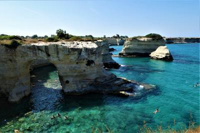 魅惑のシチリア×プーリア♪ Vol.671 ☆トッレ・サンアンドレア:念願の真っ青な美しい風景に出会えた♪