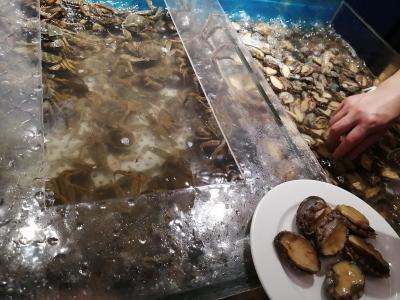 国慶節に上海にゆく ひとり海鮮食べ放題バイキングに挑戦♪