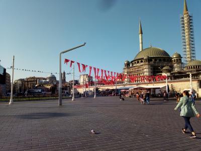 暮らすようにトルコを旅する17ーアパート泊まり歩き編(イスタンブールその2)