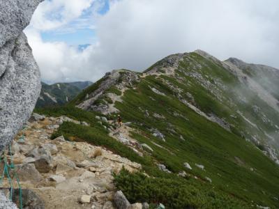 2019 中央アルプス  父子2人旅~ 木曽駒ケ岳(2,956m) ~ 登山編 ~ 稜線歩きは抜群によかった ~