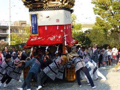 祭りの秋 「エイヤー、ワッショイ!」 愛知県東海市大田町 2019.10.05