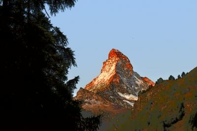 熟年夫婦、スイスアルプスを巡る① ツェルマットから始まるヨーデルの旅