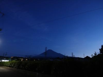 散歩・早朝に富士山見ながら… 2019.10.09