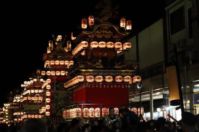 秋の高山祭(八幡祭)・「宵祭」に魅せられて 飛騨高山(1/2)2019