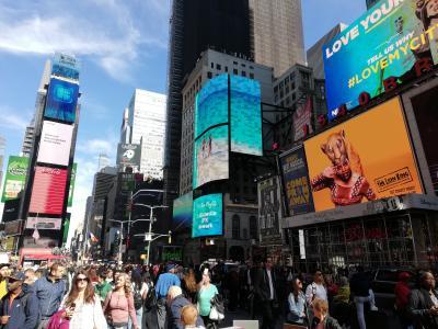 海外出張も仕事です201910! 久しぶりのニューヨーク!