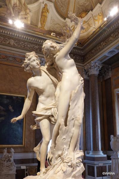 夫婦でローマ8連泊 観光6日目 ボルゲーゼ美術館 カルロ ビロッティ博物館 スペイン広場