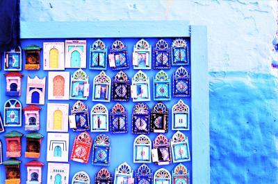 一緒なら*もっとイケる、魅惑のモロッコ2019*① 青い町*シャウエンで.*青色に染まってみた.☆*