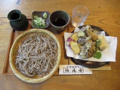 富山の旅⑧ 五箇山味道楽塾「拾遍舎」で手打そばと五箇山豆腐を頂く
