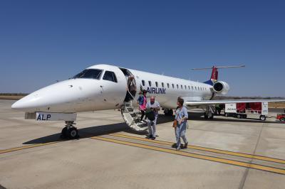 南アフリカ航空E190でヨハネスブルグからカサネへ、チョベサ国立公園サファリ、個人手配の気まま旅行