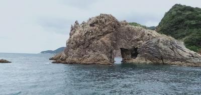 青海島旅行