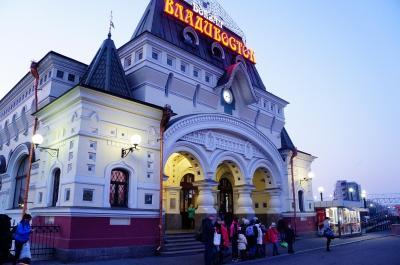 冬のシベリアへの旅9 シベリア横断鉄道でウラジオストクへ (Trans-Siberian Railway to Vladivostok)
