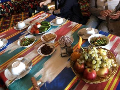 蒼の世界に浸るウズベキスタンの旅 2日目の1 カラカルパクスタン共和国