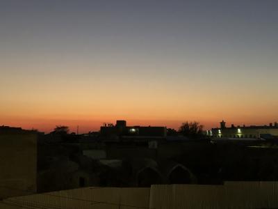 蒼の世界に浸るウズベキスタンの旅  3日目の2 イチャンカラの2~ブハラ