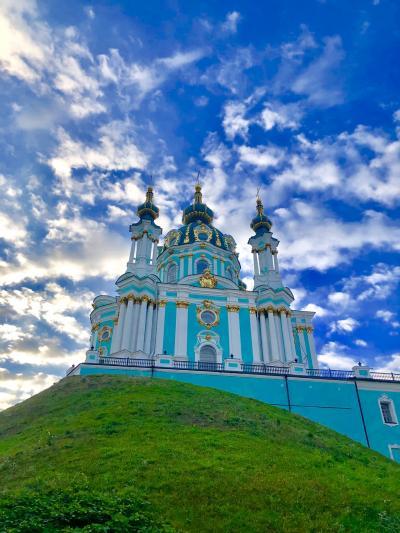 2019 秋ウクライナ キエフ3日目 散歩とウクライナマッサージと夜行列車 午前中編