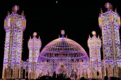 魅惑のシチリア×プーリア♪ Vol.679 ☆スコッラーノ:美しいルミナリエ祭り 素晴らしい色の魔術♪
