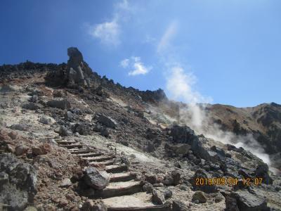 北海道ロングドライブ旅・P7:活火山「恵山」の登山