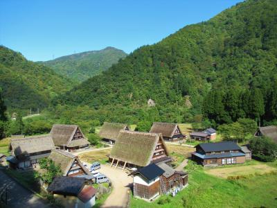 富山の旅⑦ 五箇山の菅沼合掌集落を歩く