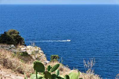 魅惑のシチリア×プーリア♪ Vol.690 ☆サンタ・カテリーナ:アルト・トッレと青いイオニア海♪
