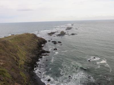 襟裳岬から小樽へ