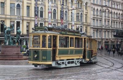 ANAビジネスクラスで行く、「トラムと船で周るヘルシンキの街」