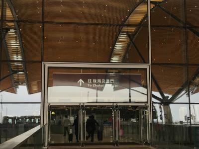 初めての中国-珠海・香港
