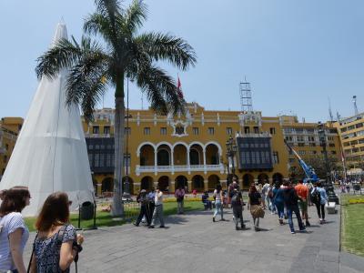 ペルー リマ アルマス広場(Plaza de Armas, Lima, Peru)