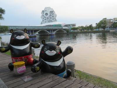 台湾 「行った所・見た所」 高雄の愛河・高雄大橋と大立百貨周辺を歩く