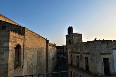 魅惑のシチリア×プーリア♪ Vol.713 ☆オートラント:「パラッツォ・パパレオ」屋上から黄昏のパノラマ♪