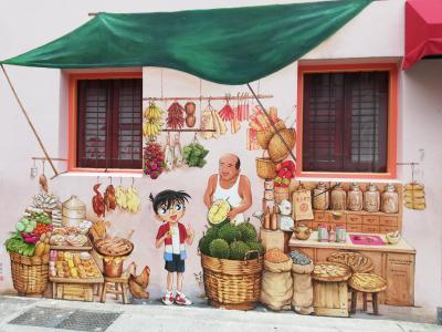 Yip Yew Chong氏の壁画をめぐる初めてのシンガポール⑤2019年作品