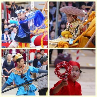 長崎くんち祭りを見る ー 和華蘭の3つの文化が混じ合った伝統行事の技に感動する