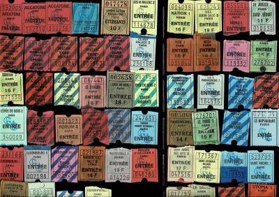 1993年 パリところどころ 3/6 :パリの(昔の)映画館