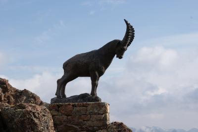 スイス アルプスの絶景とパリ、ウィーン観光18日間⑤-2 サンモリッツ ピッツ・ネイル周辺ハイキング