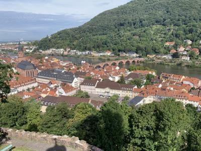ドイツ・クロアチアの旅⑩ドイツ~ハイデルベルグの旅