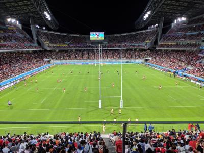 2019ラグビーワールドカップ ウェールズvsジョージア観戦記